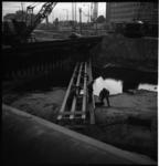 6250 Werkzaamheden hoek Weena en Hofplein i.v.m. de metrobouw.