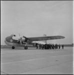 628 Een Bristol Wayfarer van Channel Airways op vliegveld Zestienhoven.