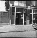 6558 Plaats moorddelict fietsenstalling in de Van den Hoonaardstraat (Liskwartier) waar het lijk gevonden werd van mej. ...