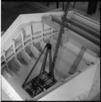 6641-2 Interieur-maquette van concertgebouw de Doelen.