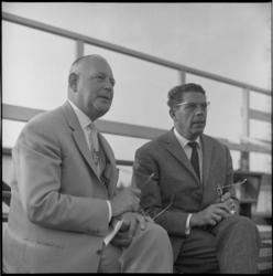 6672-3 Sponsors van Xerxes P. Hoogenboom (links) en Kees van der Peppel.