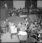 6741 Tweehonderd spastische kinderen uit heel Nederland bezochten een feestelijke bijeenkomst bij de mariniers in de ...