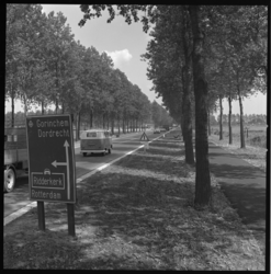 7058 Snelweg bij Ridderkerk-Rijsoord richting Gorinchem en Dordrecht.