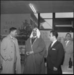 7085 Arabische sjeik Soeleiman Daher uit Ras al Khaima bezoekt Schiedam.