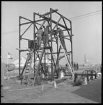 71204 De klokkentoren en bijbehorende kerkklokken wordt gemonteerd.