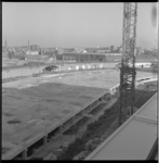 7122 Betonvloeren van nieuwe mammoetschool Technikon tussen Schiekade en de Boekhorststraat in de Agniesebuurt. Op de ...