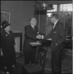 7143 Ter gelegenheid van zijn 75ste verjaardag wordt de heer Octave van Aerschot, operettespeler en regisseur, benoemd ...