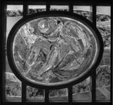 7257 Glaskunst in de in aanbouw zijnde gereformeerde Antwoord-kerk (resultaat van de landelijke inzamelingsactie ...