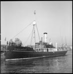 7271-1 Opnemingsvaartuig van de Koninklijke Marine de Hydrograaf, overgedragen aan het Zeekadetkorps, vond haar ...