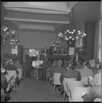 7328 Interieur van bar, dancing en cabaretgelegenheid Pompadour, gevestigd in de Beurs (de vroegere Beursfoyer), wordt ...