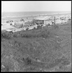 7364 Strandpaviljoen Badlust op strand bij Rockanje.