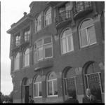 7456 Huis aan de IJsclubdwarsstraat in Kralingen waar Elly Hagers-Segov in de nacht van 22 op 23 juli om het leven werd ...