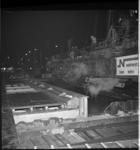 7519 Heiwerkzaamheden door bouwbedrijf Nederhorst bij Hofplein i.v.m. metrobouw.