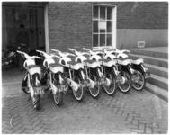 7604 Nieuwe snelbrommers (lichte motorfietsen) voor de wijkagenten.
