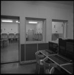 7706-2 Inrichting communicatiecentrum in bunker voor de commandopost BB met telefooncentrale aan de Delftweg in Overschie.