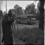 7998 RET maakt promotiefilm met tramlijn 3.