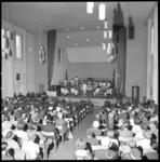 8072 Concert Leopold Central Hall Band uit Congo in congreszaal van het Leger des Heils aan de William Boothlaan.