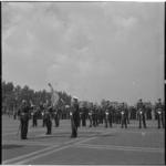 814-1 Beëdiging officieren door generaal der mariniers H.O.Romswinckel.