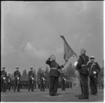 814-2 Beëdiging officieren door generaal der mariniers H.O.Romswinckel.