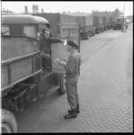 8172 Oefening met naam Hillegonda; colonne wagens van de Bescherming Bevolking, georganiseerd door de A-kring Zuid ...