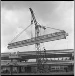 8176-4 Werkzaamheden aan de nieuwe metrolijn (bovengronds) op de zuidoever met de bouw van het metrostation Zuidplein; ...