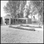 8214 School(nood)gebouw Gereformeerd Lyceum aan de Meindert Hobbemalaan (Kralingen).