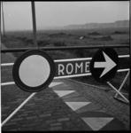 8347 Wegomlegging naar 'Rome' bij Rozenburg.