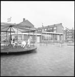 8391 Opening nieuw clubgebouw Speeltuin de Waal in Oud Charlois tussen Verboomstraat, Nieuwenhoornstraat, Quackstraat ...