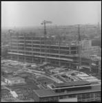 8457 Bouw mammoetschool Technikon tussen Schiekade, spoorviaduct en Heer Bokelweg.