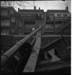 8567 Heistelling bij bouw verpleeghuis Rustenburg op de Mathenesserlaan omgevallen en beschadigde vier huizen aan de ...