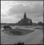 8707 Kruispunt 2e Barendrechtseweg met de gereformeerde Bethelkerk aan de Kerkweg 1.