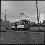 8784-1 Actie voor astmabestrijding op trams, hier op het Weena, richting Hofplein.