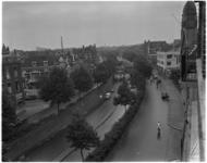 903-1 De 's-Gravendijkwal met tunneltraverse vanaf de hoek met de Rochussenstraat in de richting van de ...