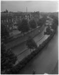 903-2 Overzicht van de 's Gravendijkwal met tunneltraverse genomen vanaf de hoek met de Rochussenstraat in de richting ...
