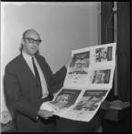 9046 Reclamecampagne voor kranten samengesteld door reclamebureau Baas en Van Haastrecht.
