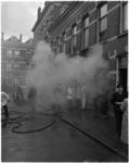948-1 Brand in de smederij van J. Hunefeld aan de Wilgenstraat 6.