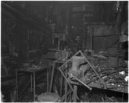 948-2 Brand in de smederij van J. Hunefeld aan de Wilgenstraat 6.