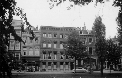 1976-2426 Gezicht op de Mauritsweg, vanaf de Westersingel.