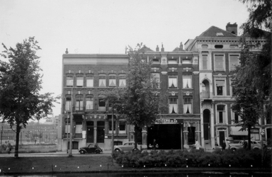 1976-2432 Gezicht op de Mauritsweg, vanaf de Westersingel.