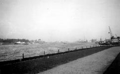 1976-2460 Gezicht op de Nieuwe Maas, vanaf het Charloisse Hoofd.