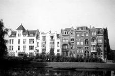 1976-2552 Gezicht op de Spoorsingel bij de Harddraverstraat ( rechts ).