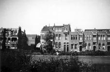 1976-2553 Gezicht op de Spoorsingel bij de Hoevestraat ( links ).