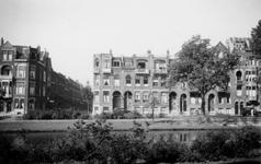 1976-2555 Gezicht op de Spoorsingel bij de Harddraverstraat ( links ).
