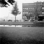 1976-2633 Gezicht op de Mauritsweg, vanaf de Westersingel.