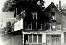 XXV-30-00-01 Autoplaatwerkerij en smederij J. Uitman aan de Baan bij de Zevenhuissteeg.
