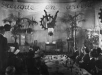 1977-3091 Bijeenkomst van de - door de NSB geleide - afdeling Vreugde en Arbeid van het Nederlandsch Verbond van ...