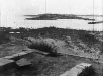 1977-3221 Inundaties bij Schiebroekse polder, als gevolg van Duitse verdedingsmaatregelen.