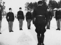 1977-3359 Een werkkamp, georganiseerd door de Nederlandsche Arbeidsdienst.
