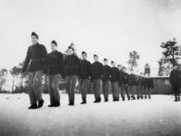 1977-3363 In een werkkamp, georganiseerd door de Nederlandsche Arbeidsdienst.
