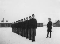 1977-3364 Een werkkamp, georganiseerd door de Nederlandsche Arbeidsdienst.